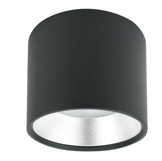 Накладной светильник Эра OL8 GX53 BK/SL (Б0048540)