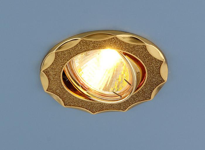 Встраиваемый Светильник Elektrostandard 612 Mr16 Gd 4690389066757